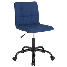 Sorrento Home and Office Task Chair in Blue Fabric