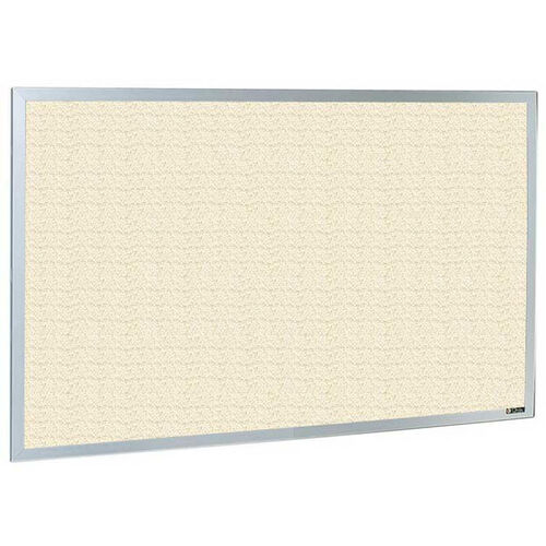 Our 800 Series Type CO Aluminum Frame Tackboard - Fabricork - 36
