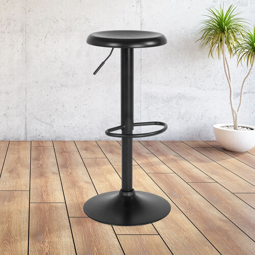 Our Madrid Series Adjustable Height Retro Barstool in Black Finish is on sale now.