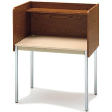 Single-Sided Fixed Height Starter Study Carrel - 37
