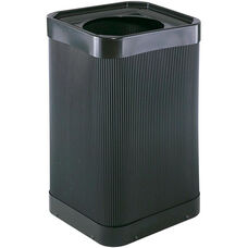At-Your-Disposal® Square Moisture Resistant Trash Receptacle with 12