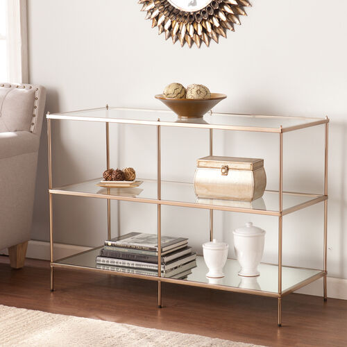 Our Knox Console Table - Warm Gold is on sale now.