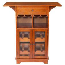 Peoria Multi Wine Cabinet - Mahogany