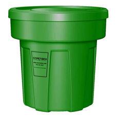 25 Gallon Cobra Food Grade/General Use Trash Can - Green