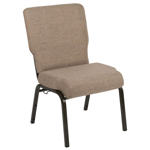 Our Advantage 20.5 in. Mixed Tan Molded Foam Church Chair with Book Rack is on sale now.