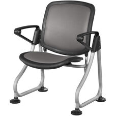 Ready Link Row Starter Chair - Charcoal
