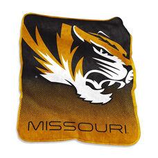 University of Missouri Team Logo Raschel Throw
