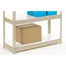 Additional White Melamine Laminate Deck For Rivet Lock Shelving - 48