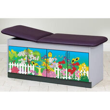 Secret Garden Cabinet Table - Adjustable Backrest