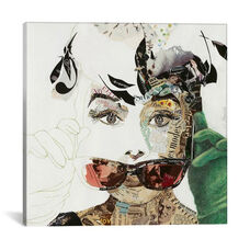 Audrey by Ines Kouidis Gallery Wrapped Canvas Artwork