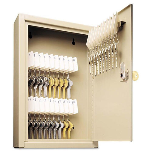 Our SteelMaster® Uni-Tag Key Cabinet - 30-Key - Steel - Sand - 8 x 2 5/8 x 12 1/8 is on sale now.