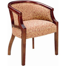 2733 Lounge Chair w/ Upholstered Back & Spring Seat - Grade 1