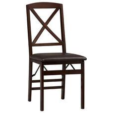 Triena X Back Folding Chair - Set Of 2