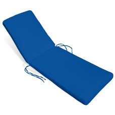 Miami Chaise Lounge Cushion -Pacific Blue