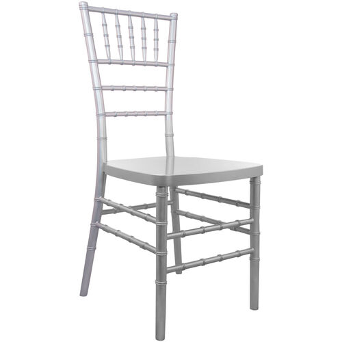 Our Advantage Silver Resin Chiavari Chair is on sale now.