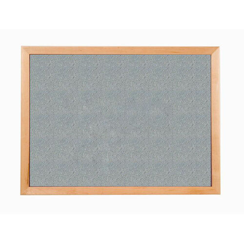 Our 213 Series Tackboard with Angle Wood Face Frame - Claridge Cork - 72