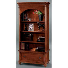 Antigua Lateral File Bookcase - West Indies Cherry