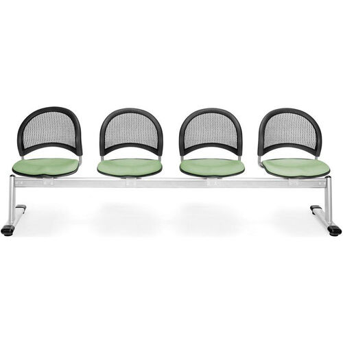 Our Moon 4-Beam Seating with 4 Fabric Seats - Sage Green is on sale now.