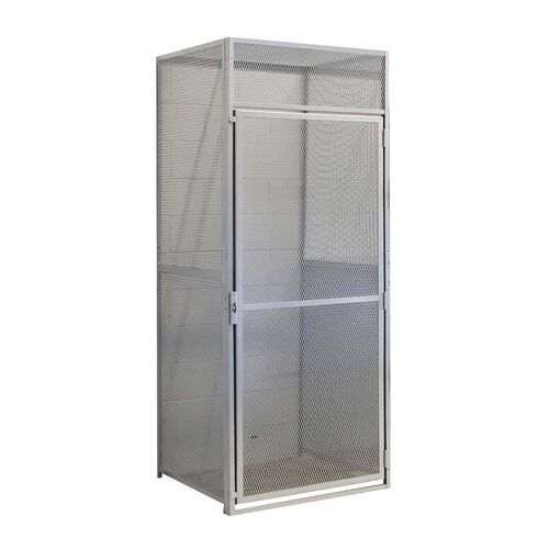 Heavy Duty Bulk Storage Single Tier Stock Starter Locker - Unassembled - 36