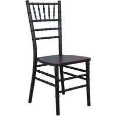 Advantage Coffee Wood Chiavari Chair