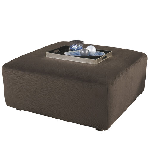 Our Signature Design by Ashley Jessa Place Oversized Ottoman in Chocolate Fabric is on sale now.