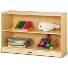 Short Straight 2 Shelf Wooden Bookcase - 36