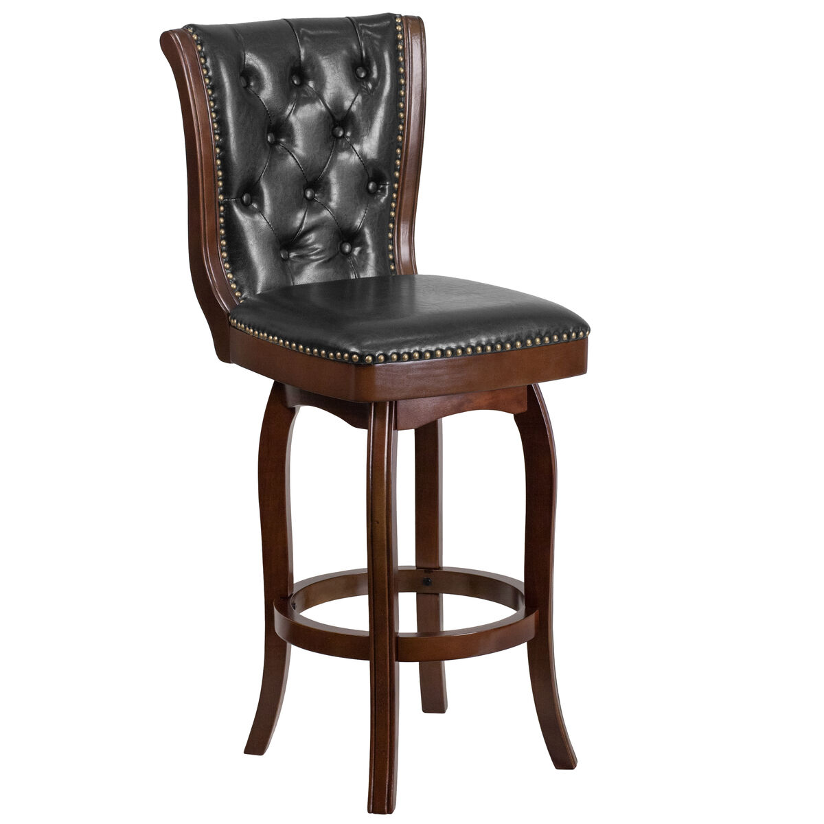 30 Quot Cappuccino Wood Stool Ta 240130 Ca Gg Bizchair Com