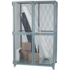 Welded Bulk Storage Cabinet with Lockable Slide Hatch