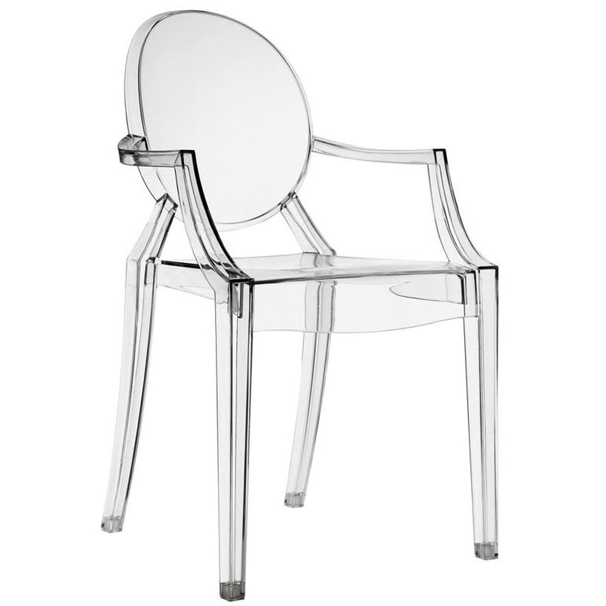 Images Our Casper Dining Armchair In Clear