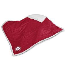 University of Alabama Team Logo Sherpa Throw