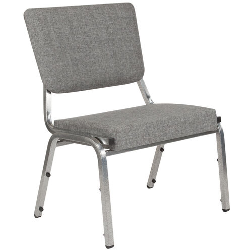 Our HERCULES Series 1500 lb. Rated Gray Antimicrobial Fabric Bariatric Medical Reception Chair with 3/4 Panel Back is on sale now.