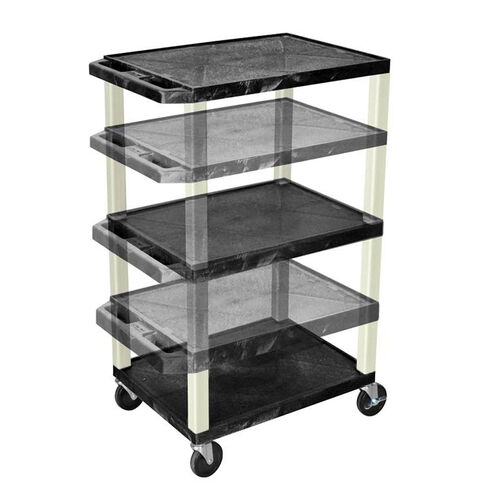 Adjustable Height Utility Cart with Putty Legs