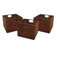 3-Pc Leo Small Wired Baskets