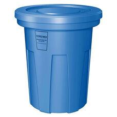 40 Gallon Cobra Food Grade/General Use Trash Can - Blue