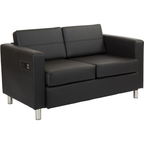 Our Work Smart Atlantic Loveseat with Dual Charging Station is on sale now.