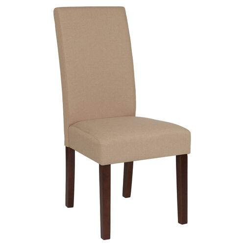 Our Greenwich Series Beige Fabric Parsons Chair is on sale now.