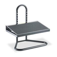 Safco® Task Master Adjustable Height Footrest - 20w x 12d x 5 1/2h-15h - Black