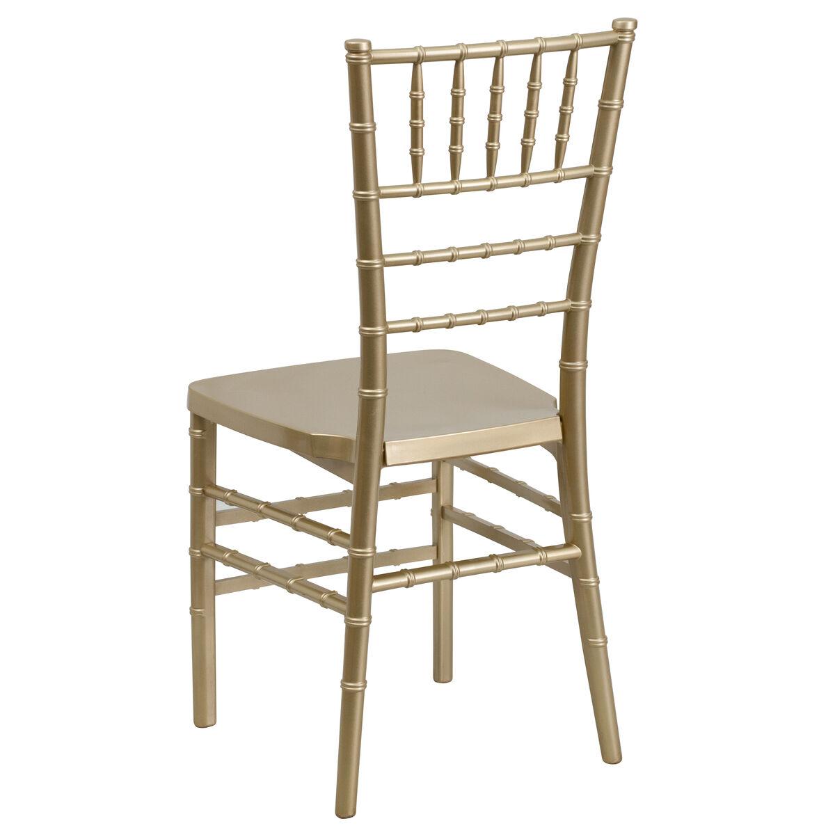 Gold chiavari chair - Images Hercules Premium Series Gold Resin Stacking Chiavari Chair