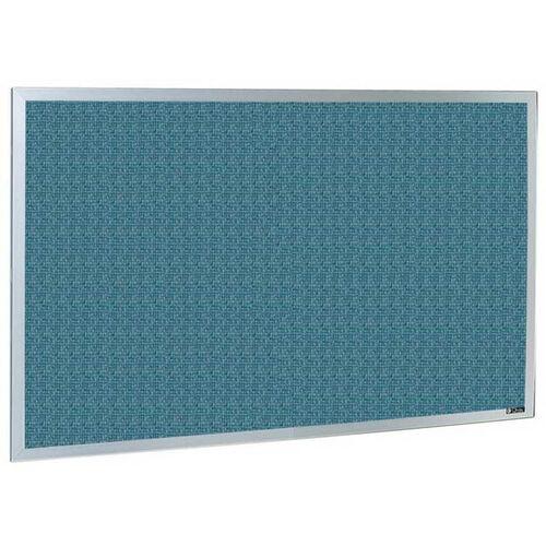 Our 800 Series Type CO Aluminum Frame Tackboard - Designer Fabric - 72
