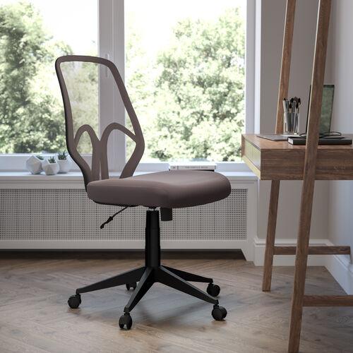 Salerno Series High Back Dark Gray Mesh Office Chair