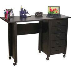 Folding Mobile Desk & Craft Center