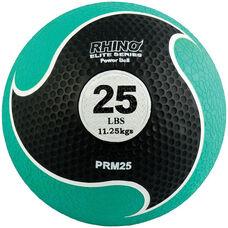 25 lbs. Rhino Elite Medicine Ball in Green
