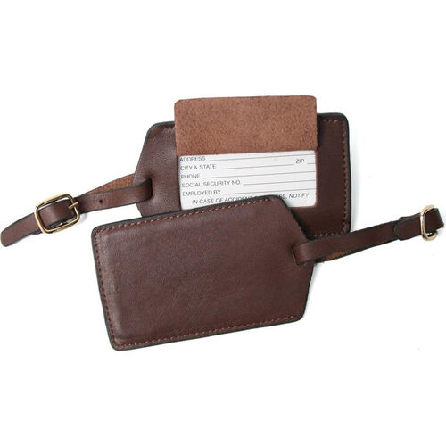 Our Luggage Tag - Top Grain Nappa Leather - Coco is on sale now.