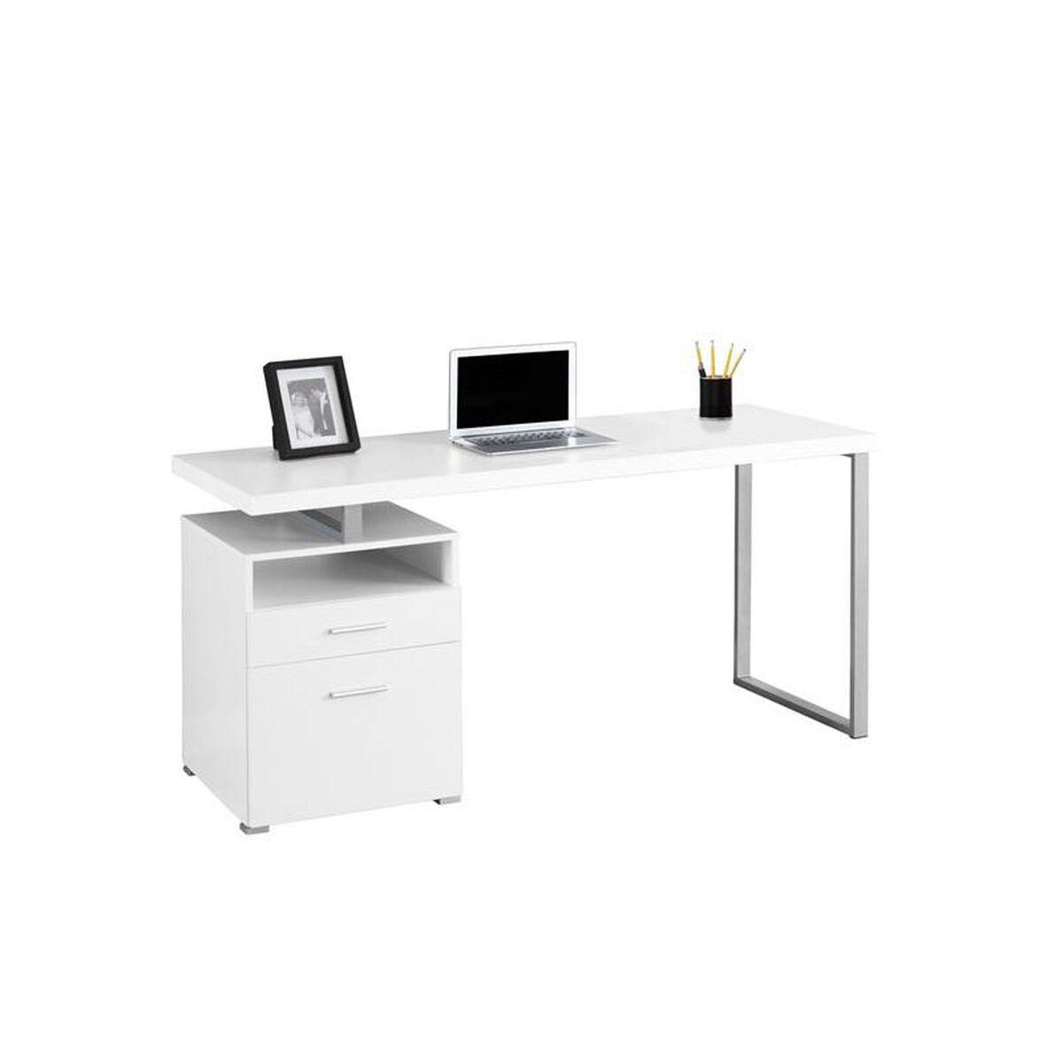 Monarch Specialties Contemporary 60 W Computer Desk With