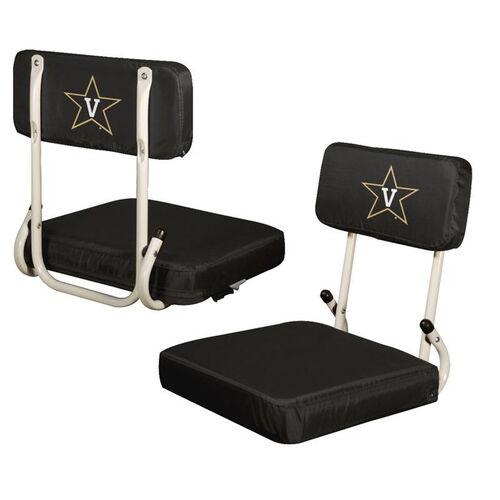 Vanderbilt University Team Logo Hard Back Stadium Seat