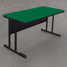 Desk Height Rectangular High Pressure Top Work Station - 24