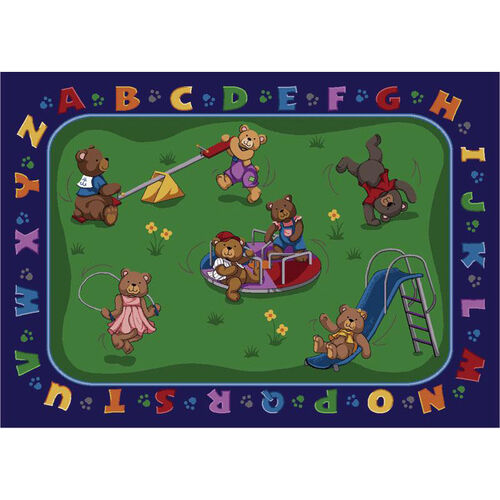 Our Teddy Bear Playground Rug is on sale now.