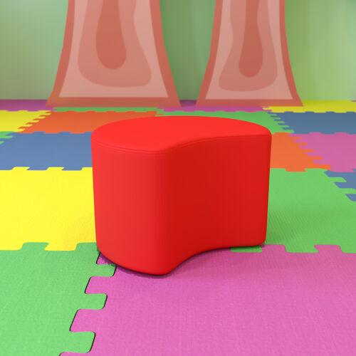 """Soft Seating Collaborative Moon for Classrooms and Daycares - 12"""" Seat Height"""