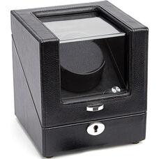 Luxury Battery Powered Single Watch Winder - Black