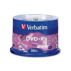 Verbatim 16X Speed Branded Dvd+R Spindle - Pack Of 50
